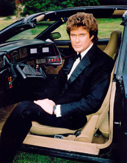 Did you know KITT was convertible?!